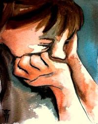 Pintura de Isabel Wallis -¿Que hago?