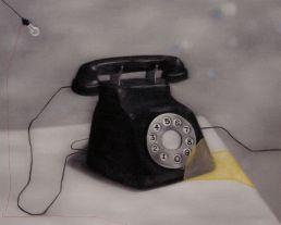 Papeles en la pared -telefono